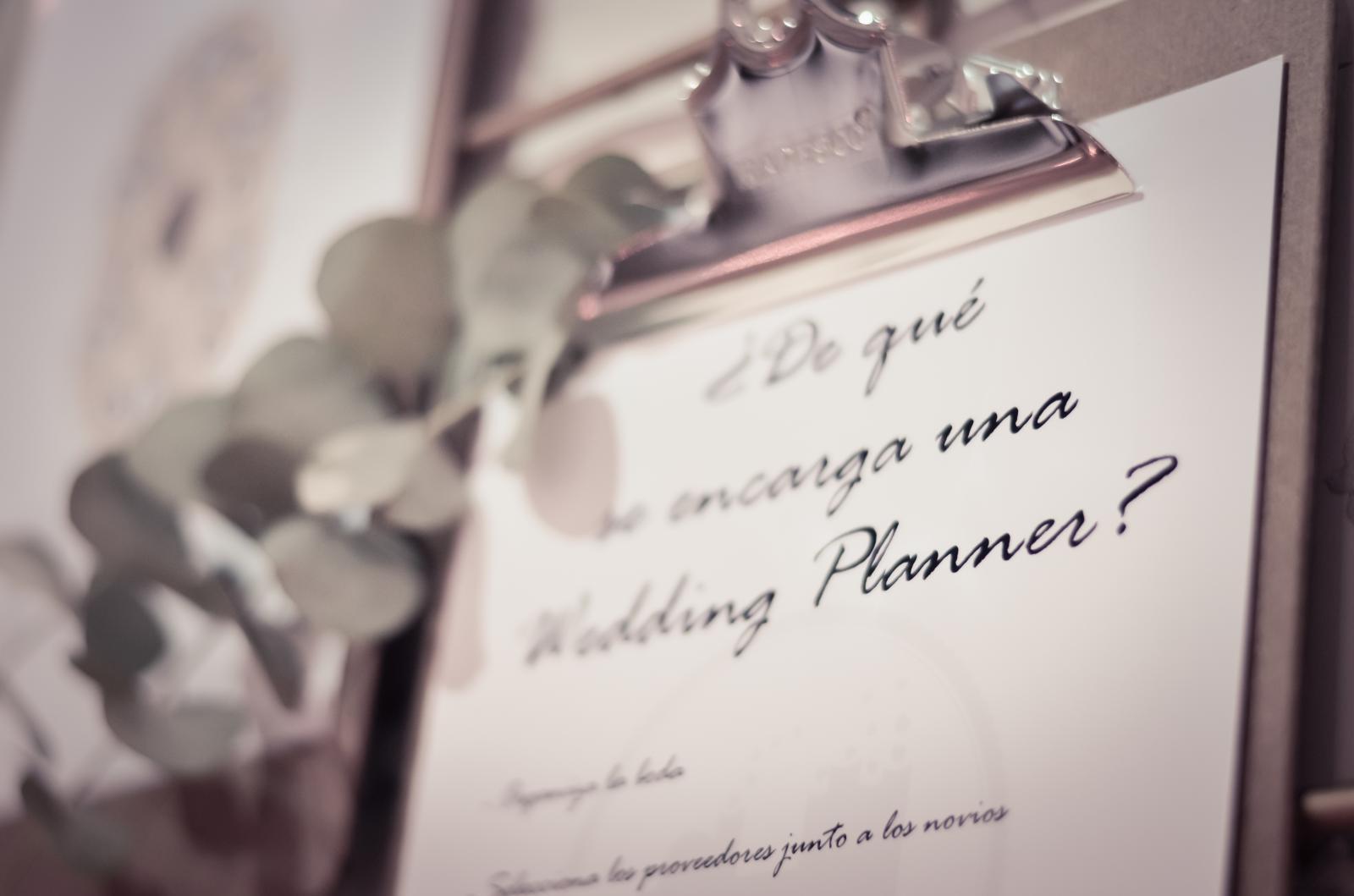 Por qué contratar una wedding planner
