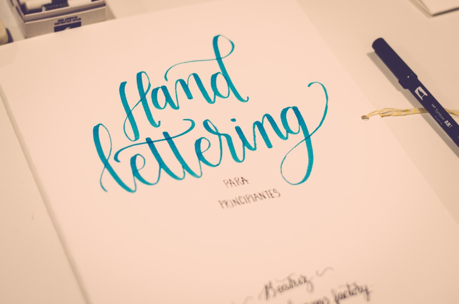 El lettering en tu boda.